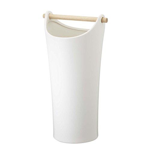 山崎実業陶器傘立てコモホワイト2609