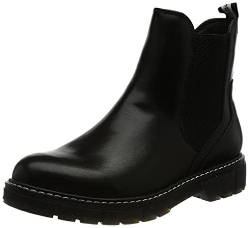 Marco Tozzi Damen 2-2-25404-27 Stiefelette Chelsea-Stiefel, Black ANT.Comb, 39 EU