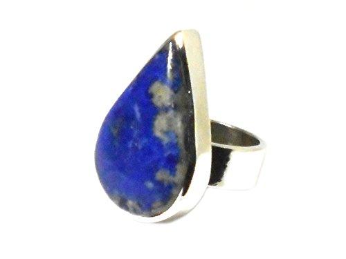 Lapis Lazuli Ring Sterling-Silber 925 (Größe 52) - (llr2001163) Brand Name: Art Gecko
