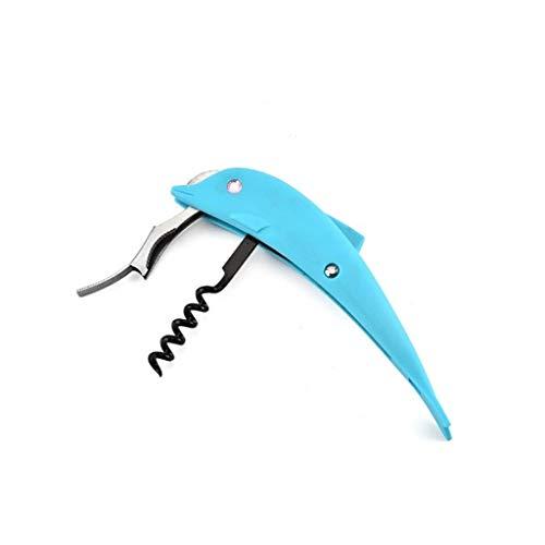 FENXIXI Dolphin abrelatas de múltiples Funciones práctico Dolphin abridor Creativo del abrelatas del Vino fácil de Abrir latas Botellas y Pueden Caer el envío