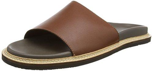 ALDO Men's Slippers, Brown Cognac 2…
