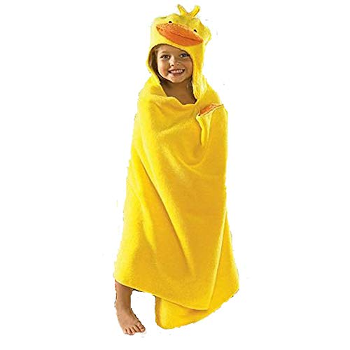 Jumping Beans Duck Hooded Bath Towel, in Yellow