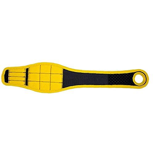 Pulsera magnética Imanes potentes Herramienta de mano Thumb Ajustable Thumb Blinding Cinturón de pulsera Amarillo, Hardware Herramientas de la mano »Herramientas de mano