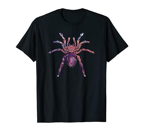 Spinne Spinnennetz Terrarium Arachnologie - Haustier Spinne T-Shirt