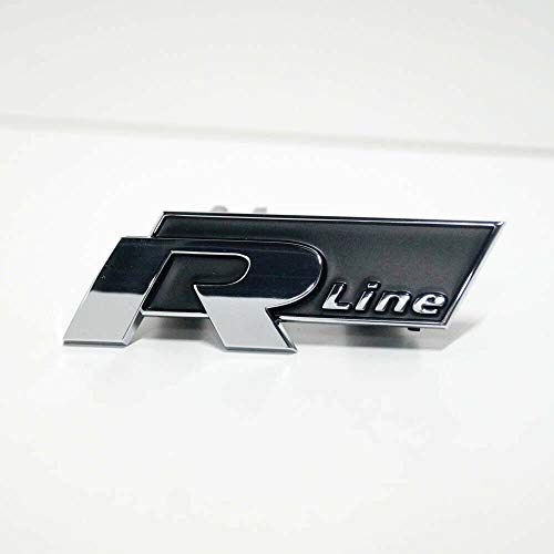 GTV INVESTMENT Passat B7 Kühlergrill R Line Emblem Badge 3AA853948FXC NEU Original