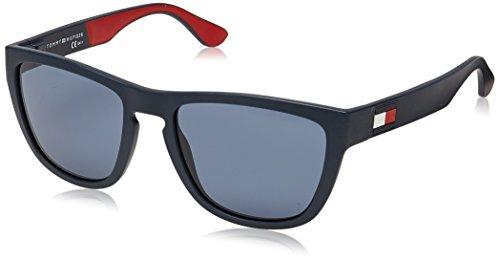 Tommy Hilfiger Herren TH 1557/S Sonnenbrille, Mehrfarbig (BL REDWHT), 54