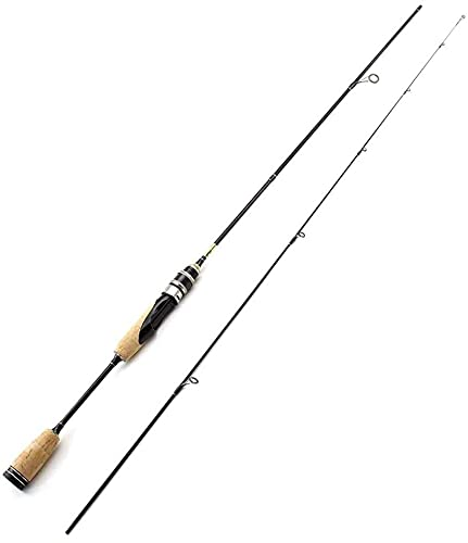 GFBHD cañas de Pescar Varilla de Pescar con Carbono La luz de la Varilla sólida y la Carga Fuerte, se Puede Pescar en ríos Lagos y ríos
