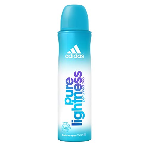 adidas Pure Lightness Deodorant – Deospray für Damen mit fruchtig-floralem Duft – Verleiht eine vitale, feminine Aura – 1 x 150 ml