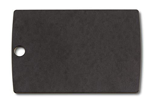 Victorinox Kleines Allrounder Schneidbrett Schneidebrett, Edelstahl, Schwarz, 241 x 165 7 mm