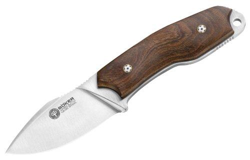 Böker Arbolito El Héroe Feststehendes Messer aus N695-Stahl und Guayacan-Ebenholz in der Farbe Braun - 17 cm