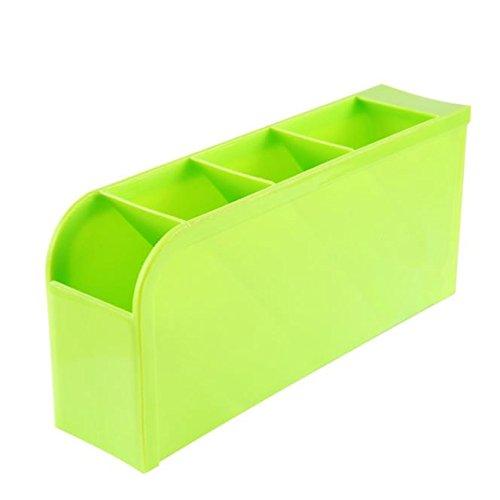 Sulifor Kunststoff-Desktop-Aufbewahrungsbox lila, Kunststoff-Aufbewahrungsbox Aufbewahrungs-BH Socken Schublade Kosmetik Küche PP