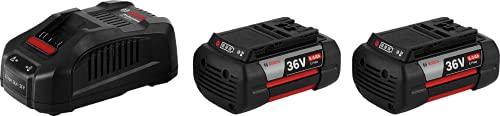 Bosch Professional 36V Akku GBA 6.0 Ah + Ladegerät GAL 3680 (1.300g, 36V, im Karton)