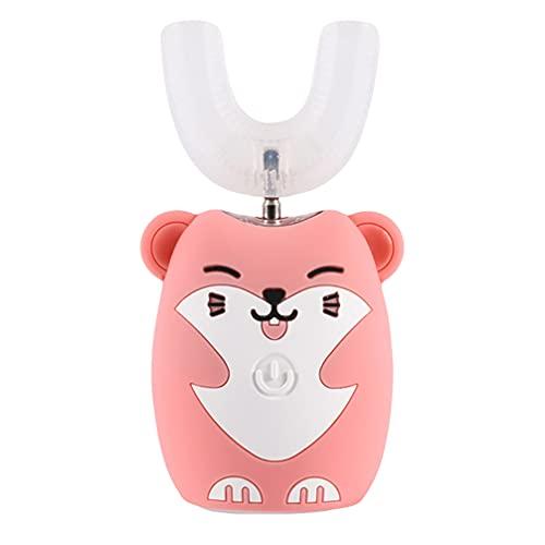 DOITOOL 1 Set di spazzolino elettrico a forma di U, strumento per la pulizia dei denti del bambino, spazzolino elettrico per bambini