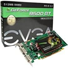 EVGA GeForce 9500 GT 512 MB DDR2 PCI Express 2.0 2DVI/HDTV SLI Ready Graphics Card, 512-P3-N954-TR