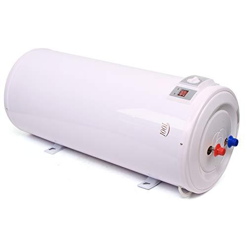 Elektro Warmwasserspeicher, 2000W, ABS, 100/120 Liter Speicher Mit Duschset, für Wandmontage - Wasserboiler, Boiler, Warmwasserbereiter, Warmwasserboiler für Bad (100L)