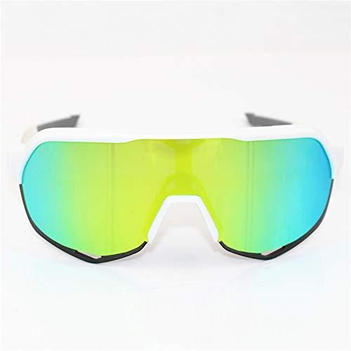 letaowl Gafas de Bicicleta de Deportes al aire libre Bicicleta Gafas de sol de los hombres MTB Ciclismo Gafas de Gafas S21
