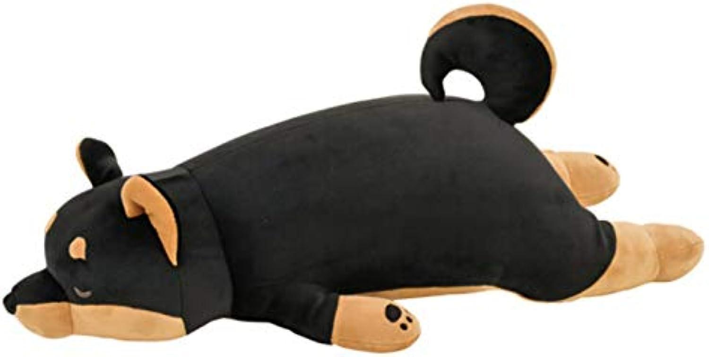 NOWPST Cartoon Hund Plüschtiere Baumwolle Plüsch Kissen Kissen Puppe Lnge 100Cm