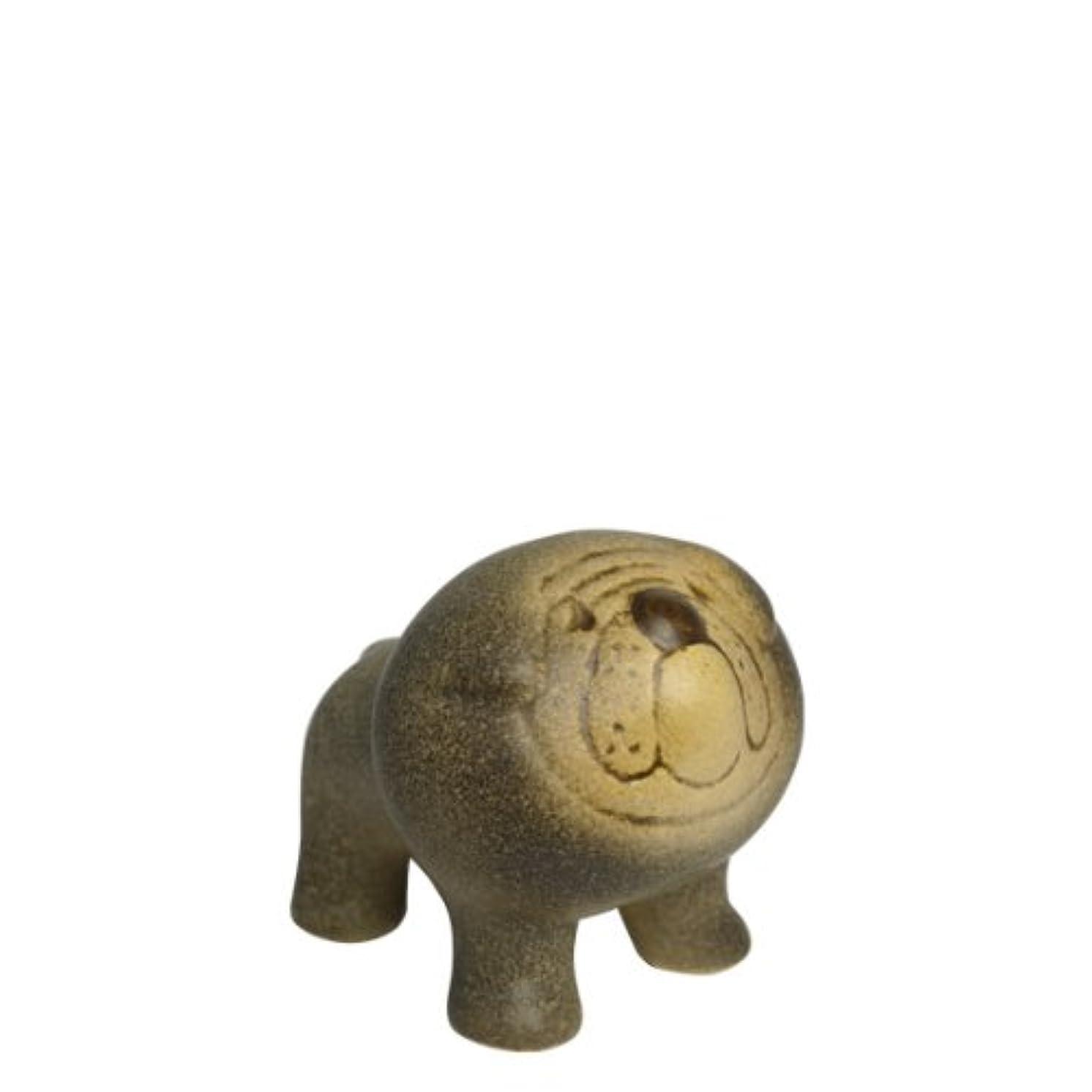 新しさ配当防ぐ[リサ?ラーソン] LISA LARSON ミニケンネル ブルドッグ (小) Mini Kennel Bulldog [並行輸入品]