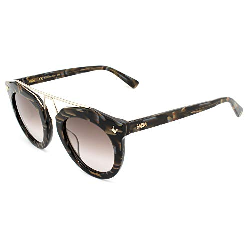 MCM Unisex-Erwachsene MCM636S-320 Sonnenbrille, Marron, 49/25/140