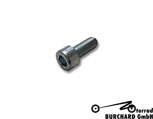 Schraube Feingewindeschraube - DIN 912 - M10X1,25X25-8.8 - galvanisch verzinkt