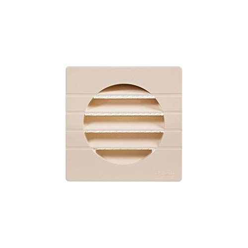 Nicoll - Grille d aeration speciale facade sable getm125 pour tube pvc