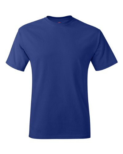 Hanes Hanes TAGLESS T-Shirt, Deep Royal, 4XL