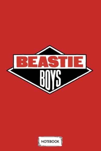 Beastie Boys Logo Notebook: Planner, Diary, Lined College Ruled Paper, Matte Finish Cover, Journal, 6x9 120 Pages