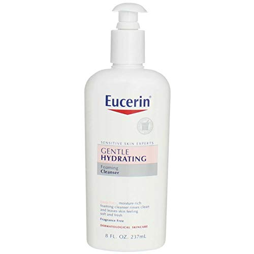 Eucerin Gentle Hydrating Cleanser for Face & Body - 8 oz - 2 pk