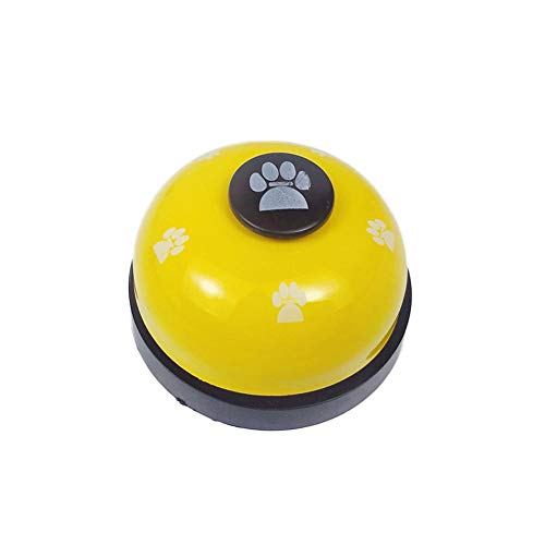 Snow Island Haustier-Trainingsglocke, Hunde-Bestellglocke, Katzentrainer, interaktives Lernspielzeug, Hundeglocke für Kommunikationsausrüstung