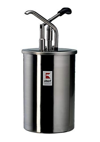 Ubert Dispenser, 10,0 liter inhoud voor Mayonaise, mosterd en ketchup