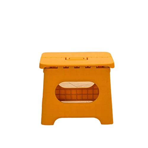 Taburete de plástico Multiusos Plegable para el hogar, Tren, Taburete para Exteriores, Taburete Plegable para niños, Taburete portátil de Pesca