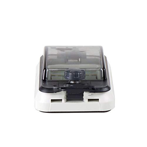 JUIANG Wasserdicht ist IP67 Stromverteiler Verteilerkasten - Staubentfernung Aufputz Kleinverteiler - Mit transparenter Abdeckung Verteilerkasten Aufputz - für drinnen und draußen