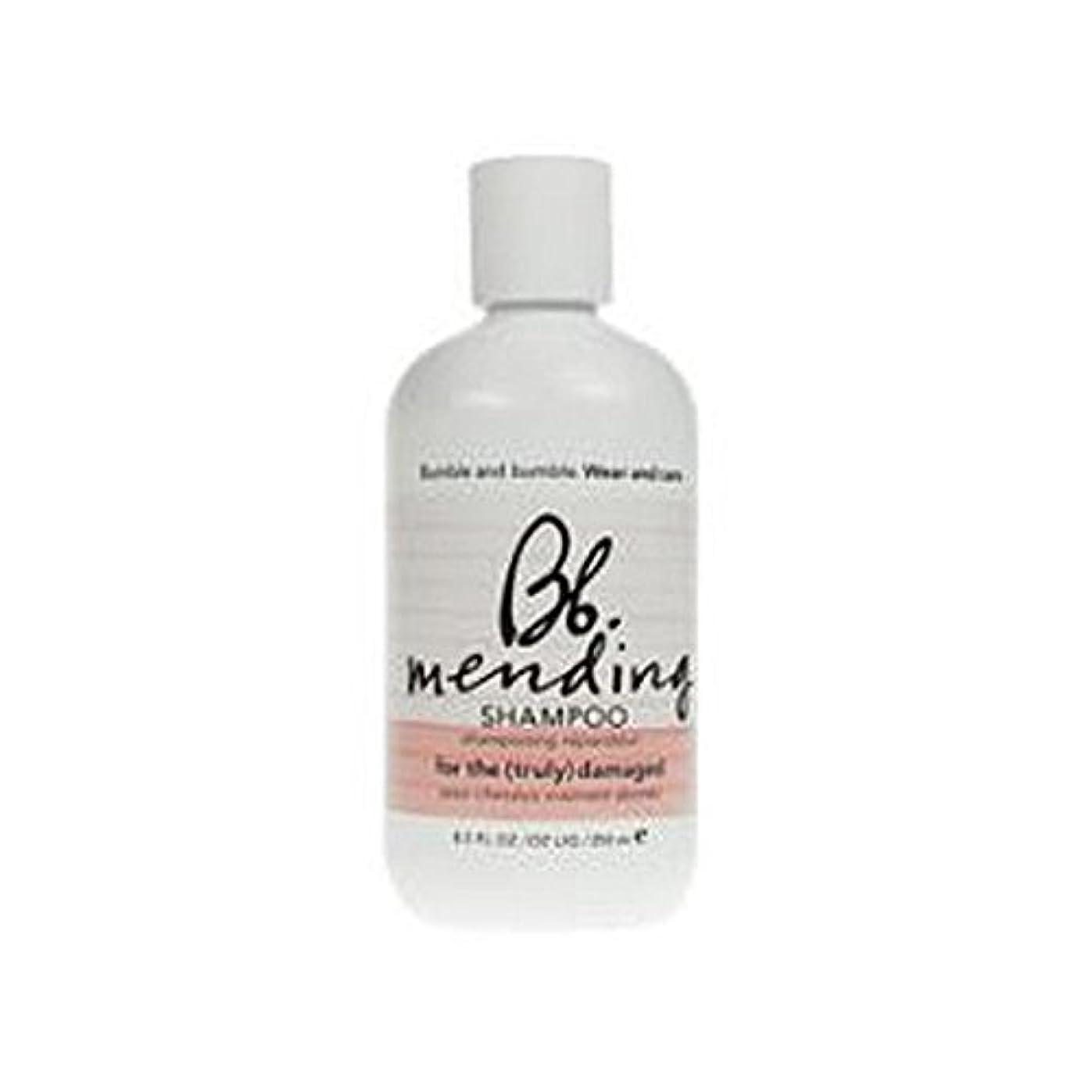 Bumble & Bumble Wear And Care Mending Shampoo (250ml) - 着用し、補修シャンプー(250ミリリットル)を気に [並行輸入品]