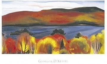 Georgia O'Keeffe - Lake George, Autumn, 1927 NO LONGER IN PRINT - LAST ONE!!