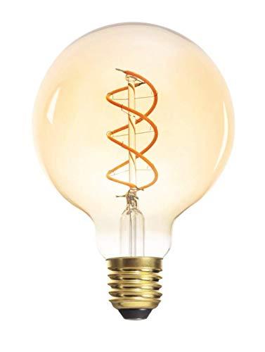E27 Filament LED 5W 1800K warmweiß 290 Lumen G95 nicht dimmbar 230V Edison Antik Vintage Retro Glühbirne Globus