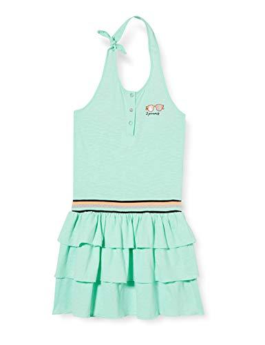 3 Pommes 3q31054 Robe Vestido, Verde (Lagune 500), 11-12 años (Talla del Fabricante: 11/12) para Niñas