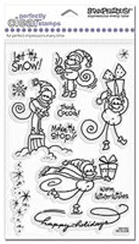 Changito Snow Play - Stampendous Perfectly Clear Stamps