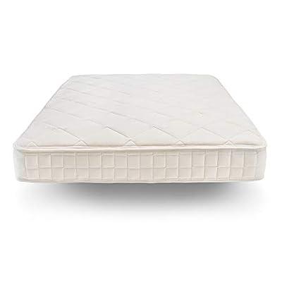 Naturepedic Chorus Organic Mattress, Medium Firm Mattress for Universal Comfort, Encased Coil Layers, Queen