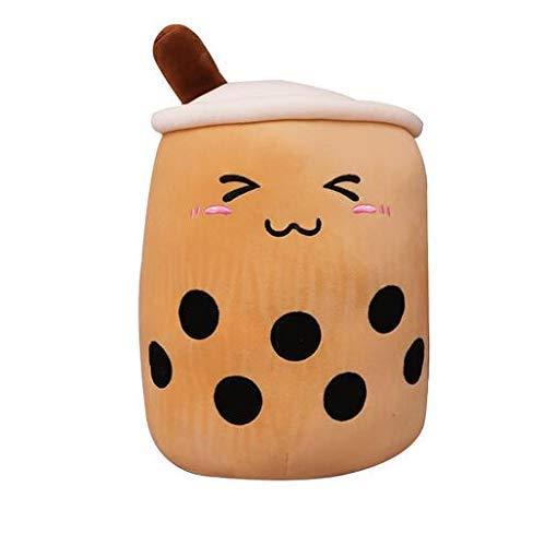 OELPAN Spielzeug Nette Frucht Getränke Teddy Stofft Weiche Rosa Erdbeer Tee Tee Teddy Becher Becher Tee Tee Tee Kissen Kissen Kind Geschenk (Farbe: 24 cm) (Color : 24cm)