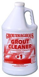 Grout Cleaner Professional Heavy Duty Tile & Grout Cleaner - Groutrageous Step #1 (Gallon)