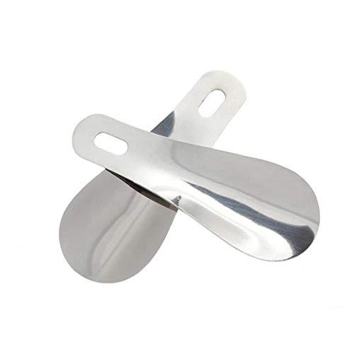 AYRSJCL Zapato 1PC claxon del Metal Cuchara portátil 10cm Calzador Profesional Acero...