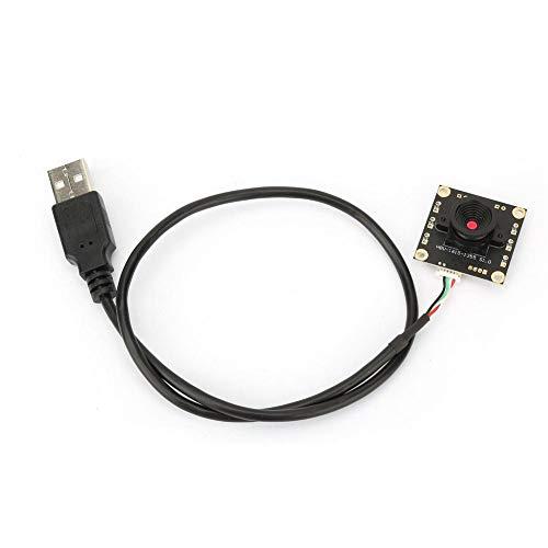 USB-Kameramodul, 1,3 Millionen Pixel 1280 * 1024 7 FPS 60 ° Weitwinkelobjektiv USB-Kameramodul HBV-1615 mit HM1355-Chip für Sicherheitsüberwachung, Industrieanlagen, Fahrschreiber und POS-Geräte