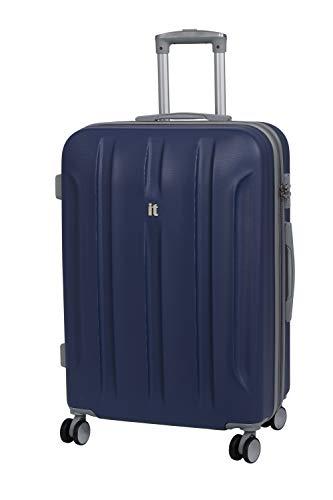 it luggage Proteus 8 Wheel Hard Shell Single Expander with TSA lock Suitcase, 71 cm, 110 L, Twilight Blue