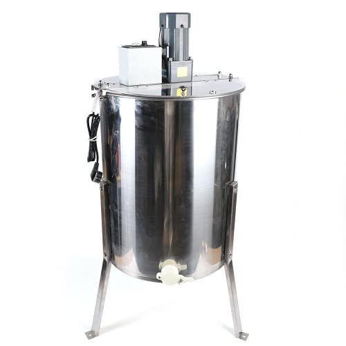 30 kg 120W 4Rahmen Elektrische Honigschleuder HonigTangentialschleuder Edelstahl Honigextractor für Tangentialschleuder Honey Imker und Bienenzüchter Zubehör