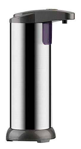 Dispenser Sapone Liquido Automatico Dispenser Gel Disinfettante Mani Regolabile Volume Distributore Sapone 4 livelli Dosatore Sapone Portasapone Sensore Infrarossi Impermeabile Bagno/Cucine/Ufficio