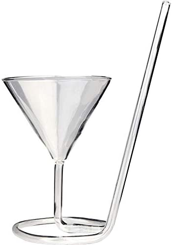 WINGOFFLY Creative Vampire Crystal Spiral Cocktail Glass Champagne Red Wine Cup Goblet 5 6 Oz product image
