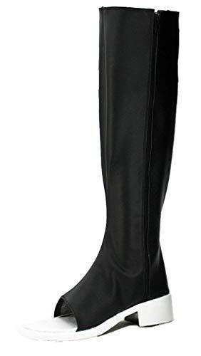 Cosstars NARUTO Konan Anime Cosplay Schuhe Stiefeletten Stiefel