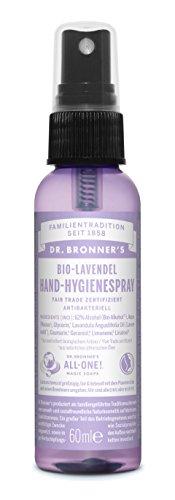 Dr. Bronners Bio Händedesinfektionsmittel Hand Hygienespray Lavendel 60ml