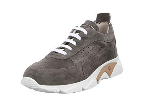MOMA Herren Sneakers 4AS018-TO Tony Maus Wildleder Grau