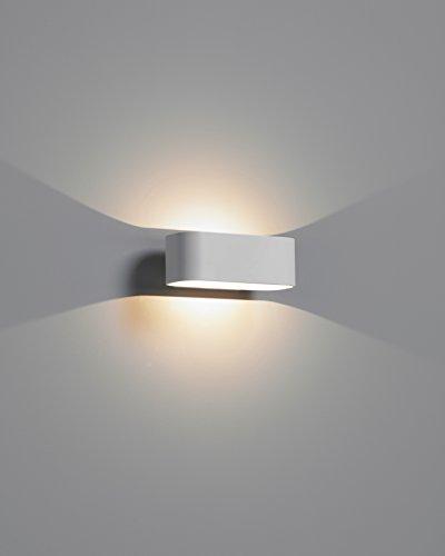 Sylvania syl3039983 LED-wandlamp Lumina Curve aluminium 6W 2700 K grijs
